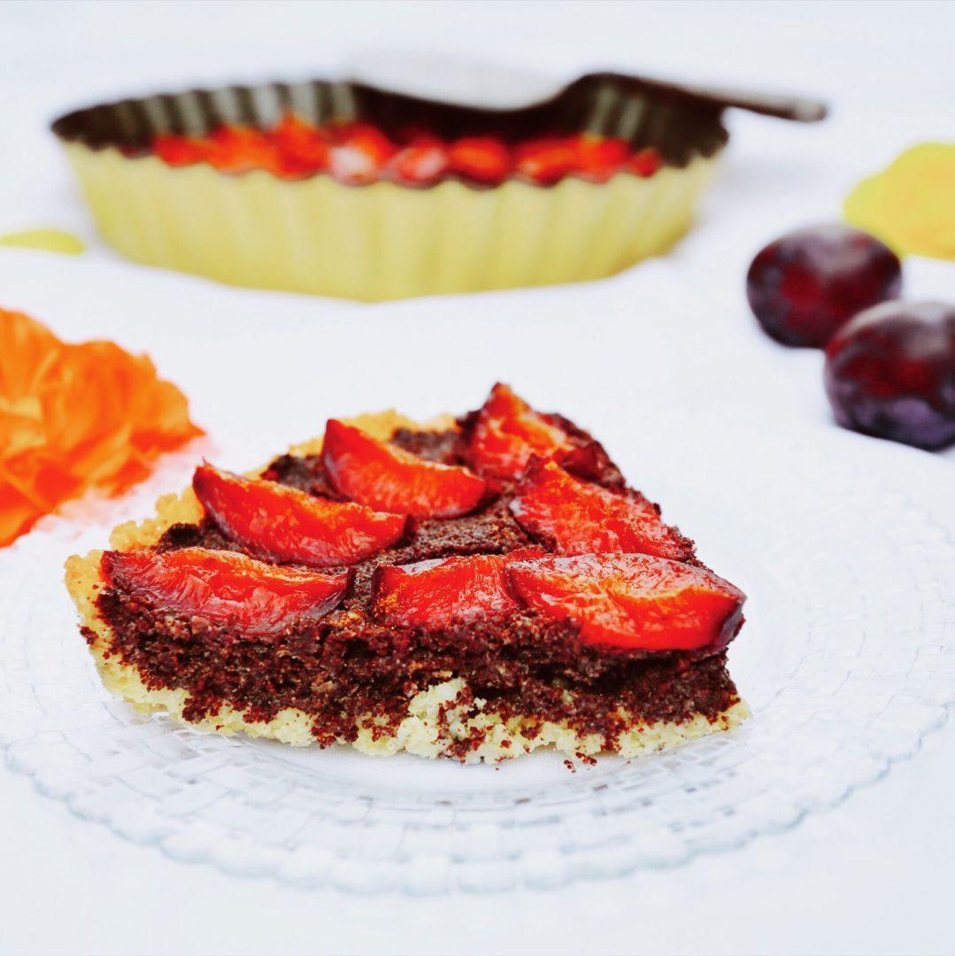 Zdravý vegan koláč bez múky acukru