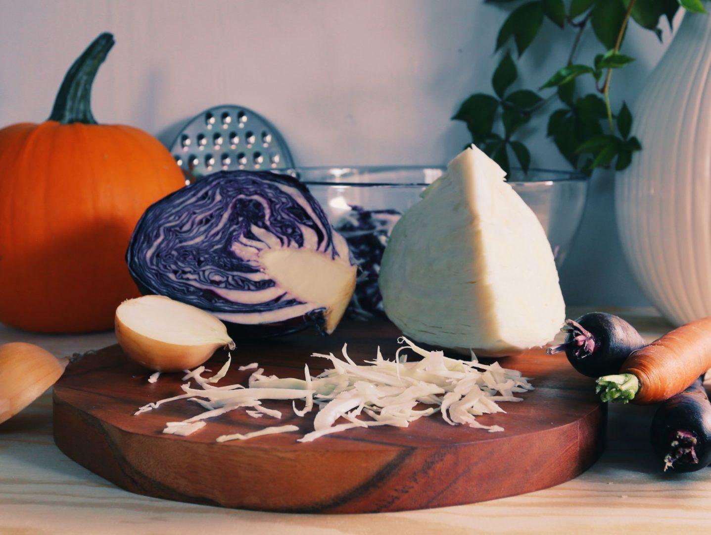 Príprava zeleniny, ktorú budeme kvasiť