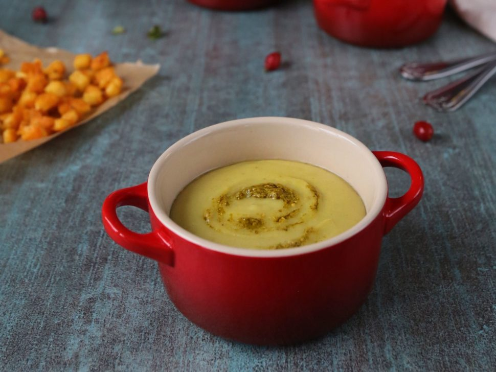 Vegan hrachová polievka