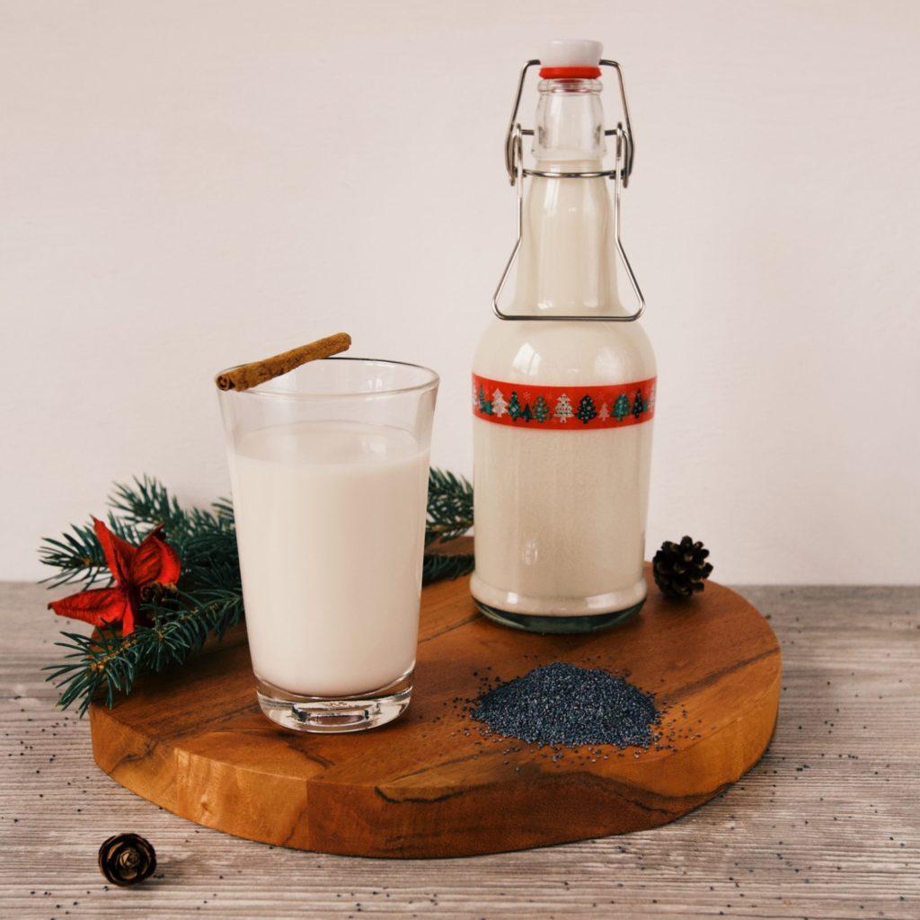 Príprava domáceho makového mlieka