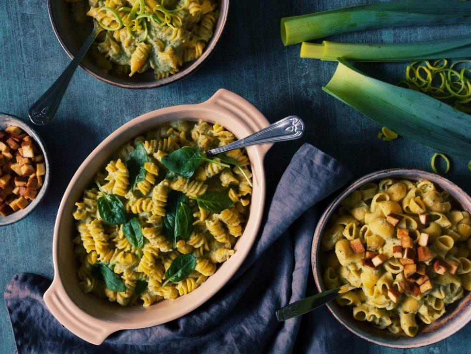 Cestoviny s brokolicovo-porikovou omackou