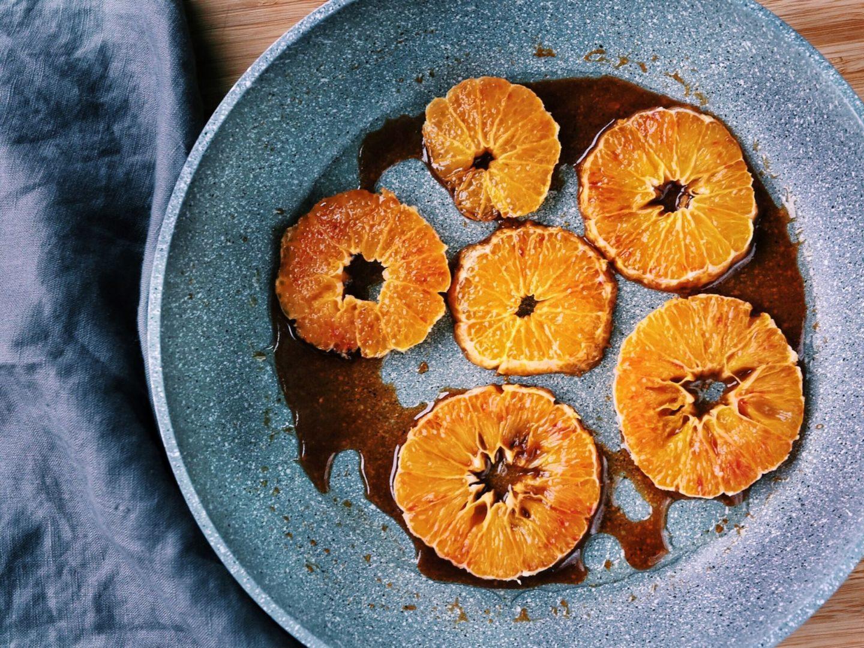Karamelizované ovocie bez cukru
