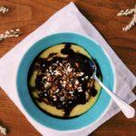 Sladka polentova kasa bez lepku, mlieka a cukru