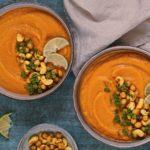 Exotická krémová polievka z mrkvy a batátu
