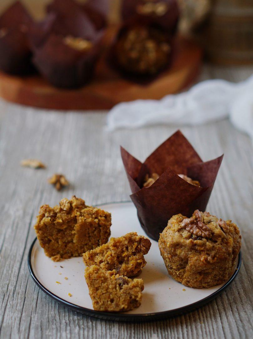 Muffiny zhokaido, špaldovej múky aorechov