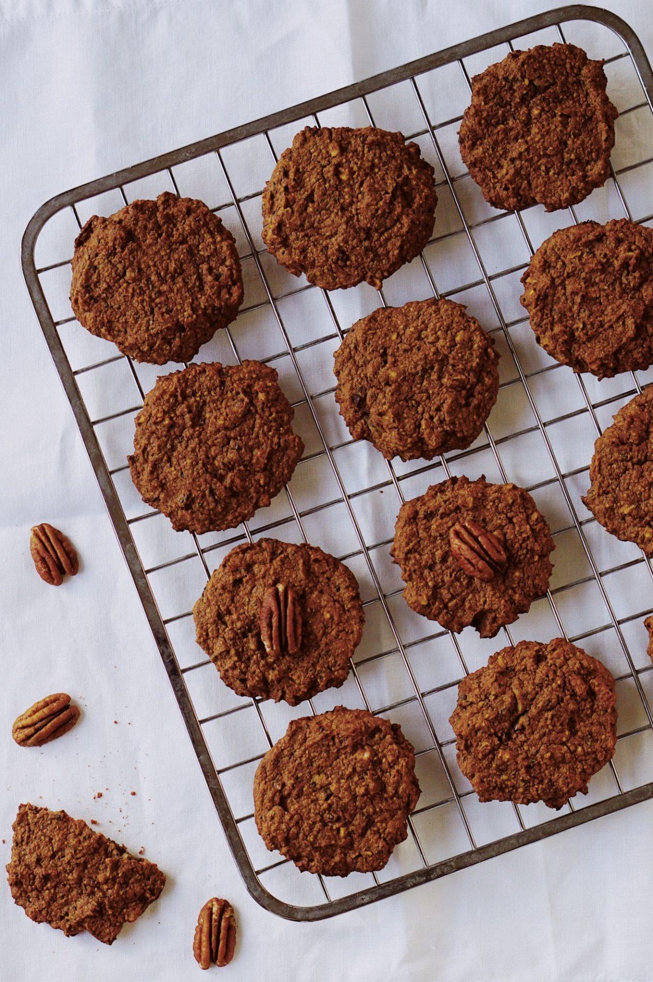 Zdravé cookies zfazule aovsených vločiek. Sú bez cukru ajednoducho sa dajú pripraviť bez lepku.